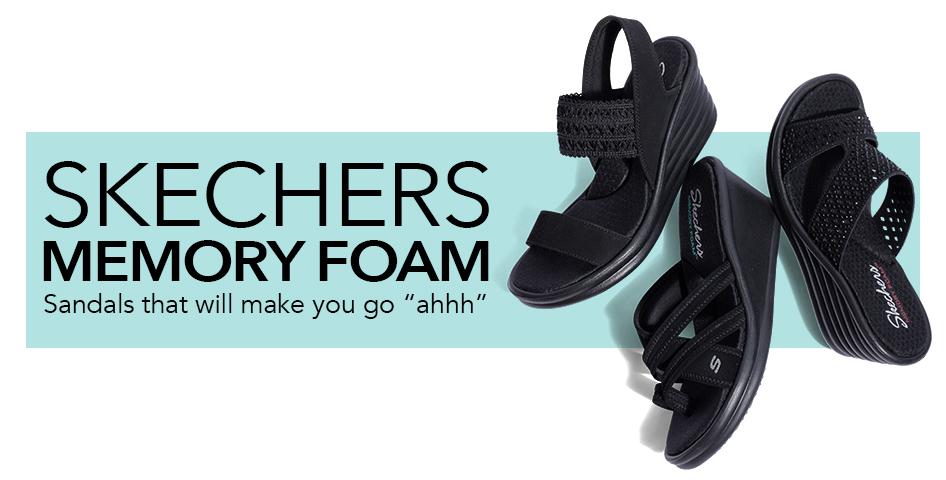 bbaf6b77d0 SKECHERS MEMORY FOAM Sandals that will make you go